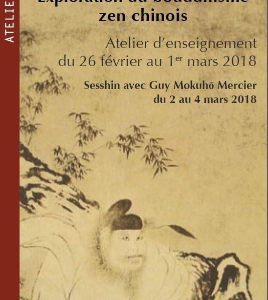 Sesshin 2 – 4 mars, 2018