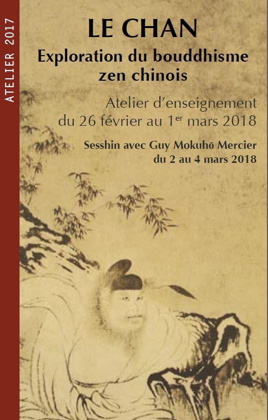 Le Chan – Exploration du bouddhisme Zen Chinois – Atelier d'enseignement