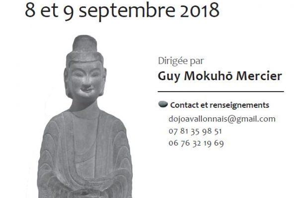 8-9 sept – Sesshin Dirigée par Guy Mokuho à Asquins