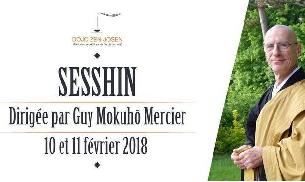 16 – 17 Mars – Weekend Sesshin au Dojo de Tours avec Guy Mokuho